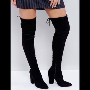 ASOS over the knee boots NWT - never worn